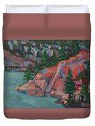 Killarney George Lake Sentinel Duvet Cover