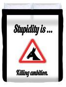 Killing Bigstock Donkey 171252860 Duvet Cover