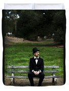 Killing Time Duvet Cover by Jorgo Photography - Wall Art Gallery