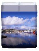 Killybegs, Co Donegal, Ireland Duvet Cover