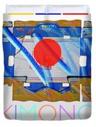 Kimono Poster Duvet Cover