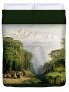 Kinchinjunga From Darjeeling Duvet Cover