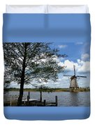 Kinderdijk Windmill Duvet Cover