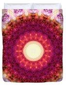 Kindness Mandala Art By Sharon Cummings Duvet Cover
