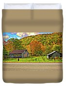 Kindred Barns Painted Duvet Cover