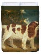 King Charles Spaniel Duvet Cover