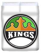 King Crown Kings Circle Retro Duvet Cover