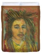 King Gong As A Young Man Duvet Cover