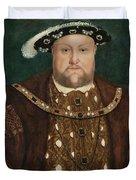 King Henry V I I I Duvet Cover