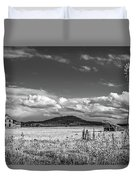 King Homestead_bw-1593 Duvet Cover