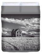 King Homestead_bw-1601 Duvet Cover