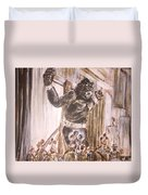 King Kong - Flashbulbs Anger Kong Duvet Cover