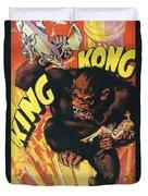 King Kong Duvet Cover by Georgia Fowler