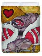 King Of Heartbreak Duvet Cover