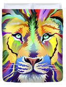 King Of Techinicolor Variant 1 Duvet Cover