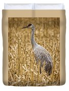 King Of The Delta Cornfield Duvet Cover