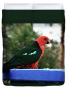 King Of The Parrots Duvet Cover