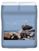 King Of The Rocks Duvet Cover
