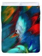 King Of The Swans Duvet Cover