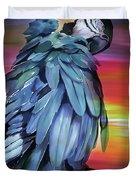 King Parrot 01 Duvet Cover