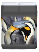 King Penquins Duvet Cover