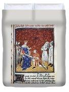 King Philip Iv Of France Duvet Cover