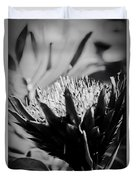 King Protea Exotic Tropical Flowers Duvet Cover