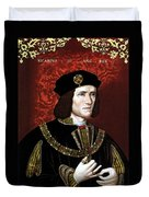 King Richard IIi Of England Duvet Cover