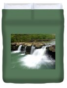 King River Falls Duvet Cover