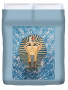 King Tutankhamun Face Mask Duvet Cover