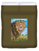 Kingdom Of The Lion Duvet Cover