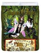 Kingdoms Of Magic Fairy Poster Duvet Cover
