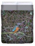 Kingfisher. Duvet Cover
