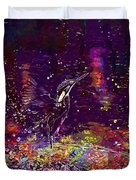Kingfisher Bird Alcedo Atthis  Duvet Cover