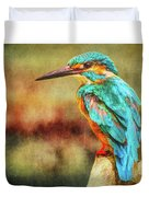 Kingfisher's Perch 2 Duvet Cover