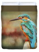 Kingfisher's Perch Duvet Cover