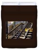 Kings Hwy Subway Station In Brooklyn Duvet Cover