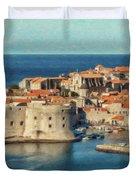 Kings Landing Dubrovnik Croatia - Dwp512798 Duvet Cover
