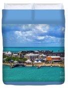 Kings Wharf, Bermuda Duvet Cover