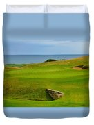Kingsbarns Golf Links Hole #18 Duvet Cover