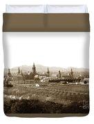 Kirkbride At Napa State Hospital In California Circa 1890 Duvet Cover