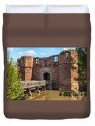 Kirkby Muxloe Castle Duvet Cover