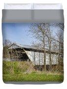 Kirker Covered Bridge  Duvet Cover