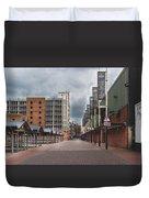 Kirkgate Market Duvet Cover