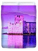Kisimul Castle Duvet Cover
