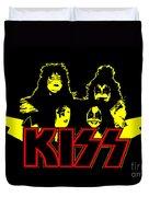 Kiss No.01 Duvet Cover by Caio Caldas