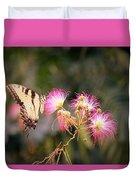 Kiss Of Butterfly Duvet Cover