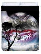 Kiss Of The Moon Duvet Cover
