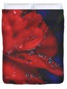 Kisses In The Rain Duvet Cover