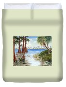 Kissimee River Shore Duvet Cover